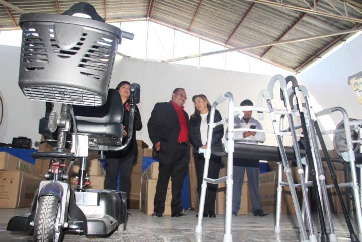 Mejorar la calidad de vida de grupos vulnerables es mi prioridad: Juárez Cajica