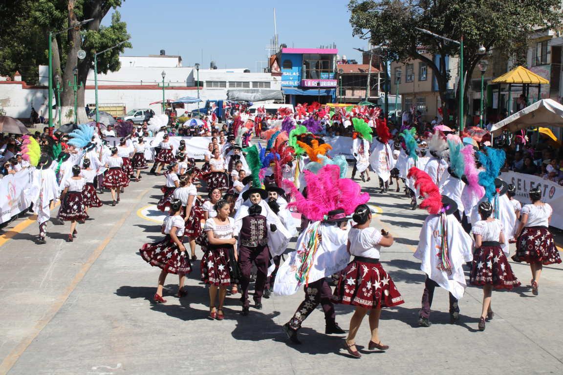 Rotundo éxito en el concurso de camadas en Chiautempan