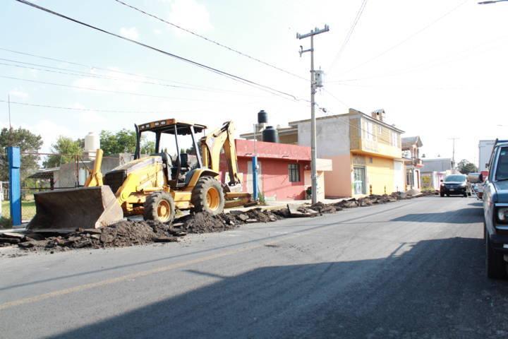 Se da continuidad y ejecución de obras en Tetla de la Solidaridad