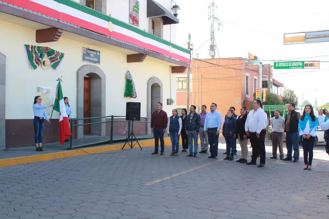 Alcalde encabezo fijación del Bando Solemne en las 12 comunidades
