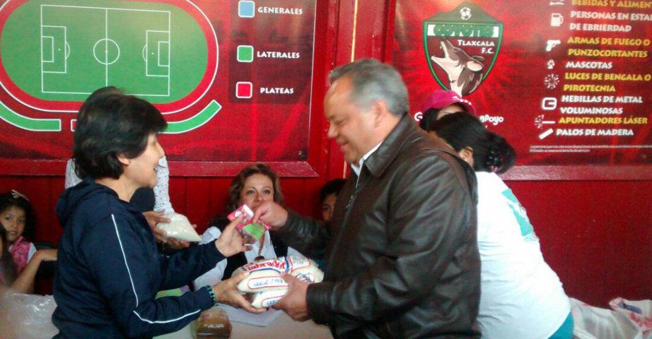 Alcalde de Huamantla apoya a la Cruzada Nacional contra el hambre