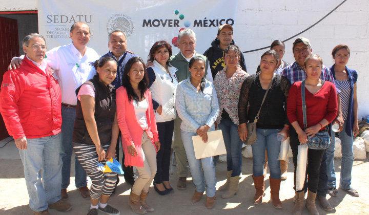 SEDATU y Ayuntamiento de Huamantla supervisan avances del programa Jóvenes Emprendedores Agrarios
