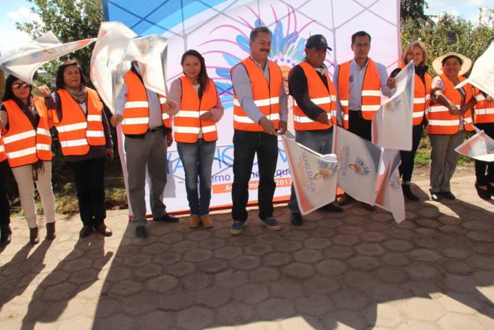 Estamos trabajando para que tengamos un municipio en desarrollo: FVC