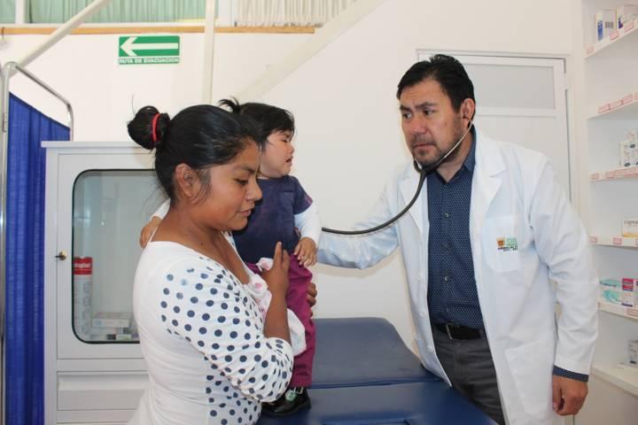 Creciente demanda de servicio médico gratuito en Santa Cruz Tlaxcala