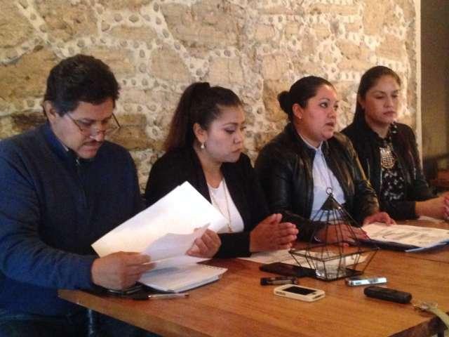 Tachan sindicalizados de Zacatelco de mentiroso a líder del sindicato 7 de Mayo