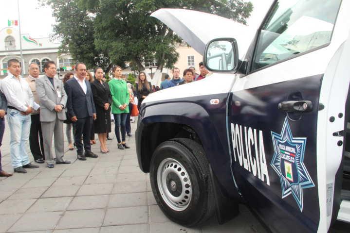 TOA refuerza la seguridad municipal con una nueva patrulla