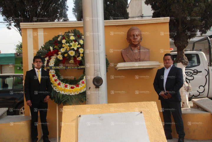 Gracias a las reformas que impulso Juárez hoy tenemos una nación estable: alcalde