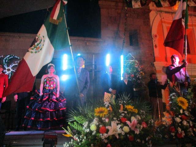 Vivió Zacualpan gran celebración con Grito de Independencia