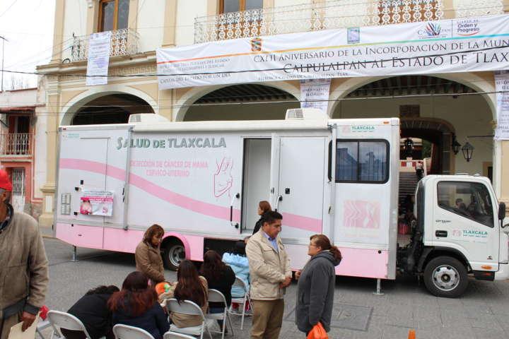 Conmemora Calpulalpan mes contra el cáncer de mama