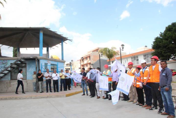 Con obras y acciones estamos beneficiando a 6 comunidades: Cano Coyotl