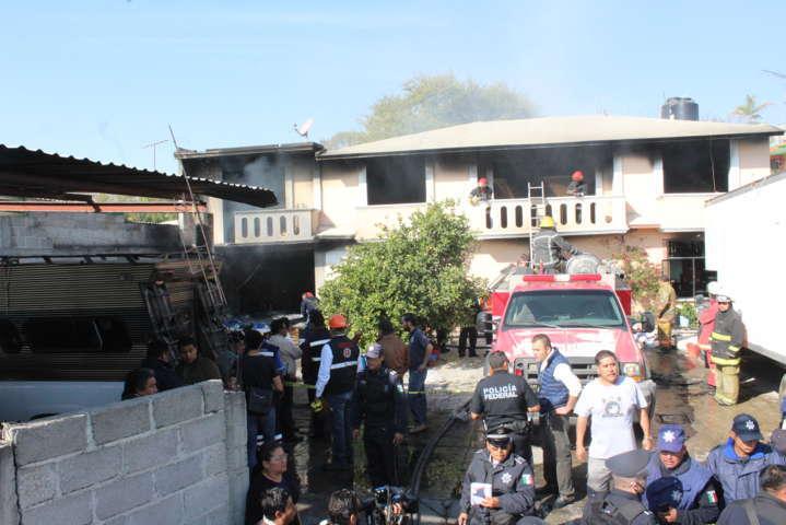 Aumenta el número de muertos por explosión en Ixtacuixtla
