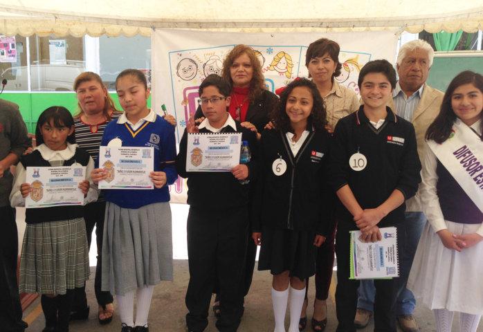 En Huamantla se premia el talento de los jóvenes