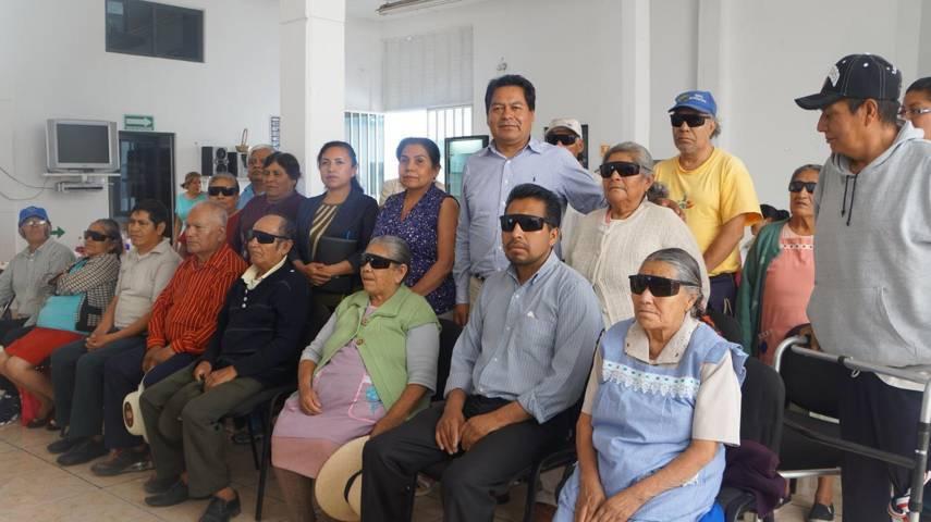 Beneficiados por cirugía de cataratas agradecen el apoyo del Gobierno Municipal de SPM