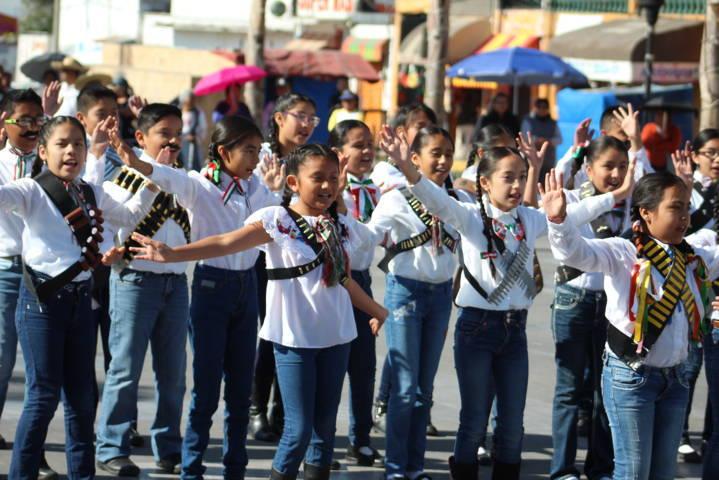 Ayuntamiento conmemora el 107 aniversario de la Revolución Mexicana