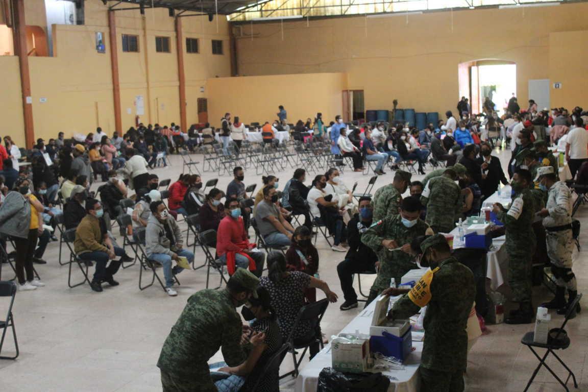 Mañana se vacunarán a las personas de 30 a 39 años en Santa Cruz Tlaxcala