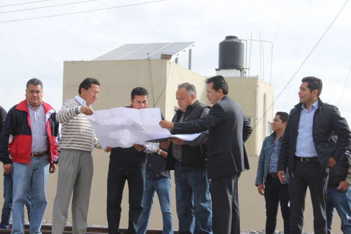 Supervisa JAAL reanudación de trabajos en obra vial en Yancuitlalpan