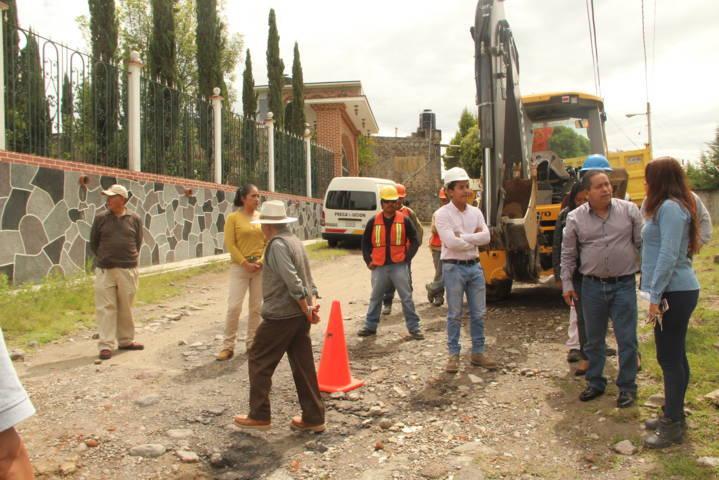 Después de muchos años Santa Elena contara con los servicios básicos: alcalde