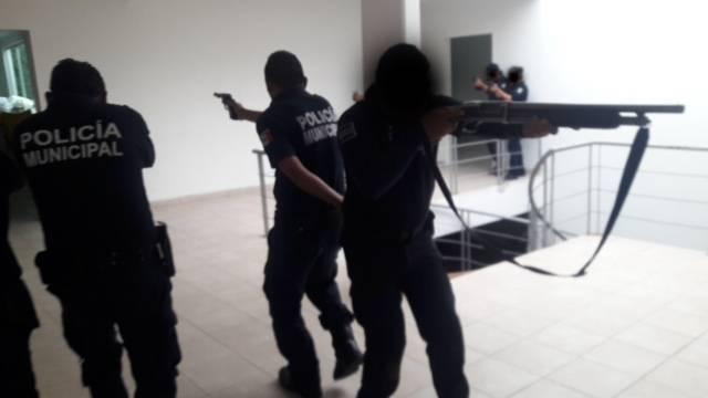 Crean grupo táctico de seguridad pública en San Pablo del Monte