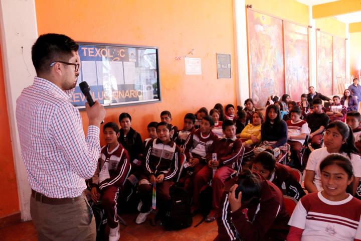 Realizan actividades de la Quinta Semana Nacional del Buen Trato en Texóloc