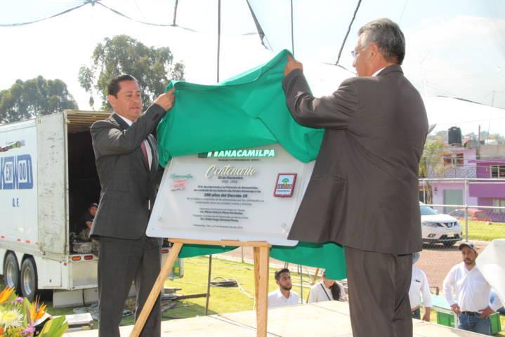 A 100 años que inicio el desarrollo se ve el progreso en el municipio: alcalde
