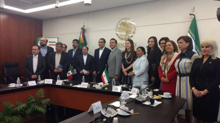Sostiene Martha Palafox reunión de trabajo con ministro de Salud Iraní