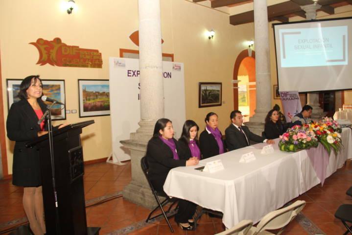 Sensibilizan  a los DIF municipales sobre la prevención del abuso sexual infantil