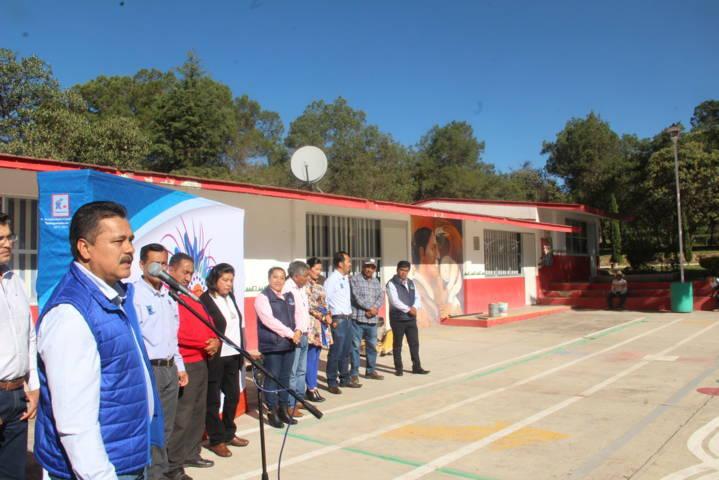 La primaria Ortiz de Domínguez contara con una techumbre: Villarreal Chairez
