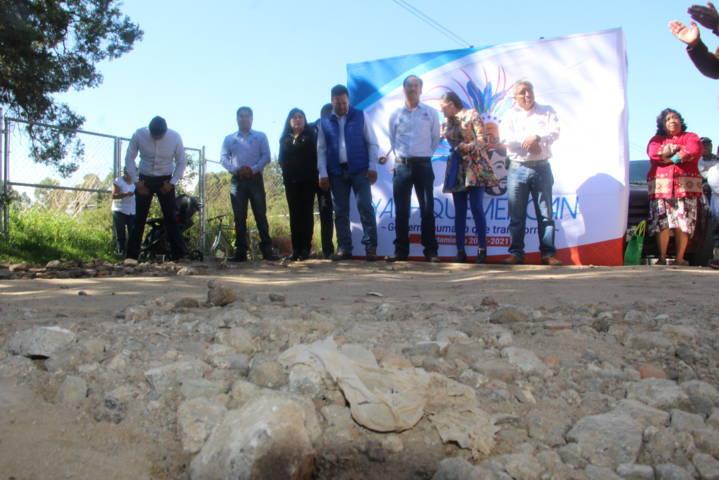 Villarreal Chairez continua realizando obras en beneficio de los pobladores