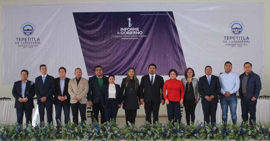 Tepetitla se fortalece con trabajo y compromiso para un mejor desarrollo: Fernández Nieves