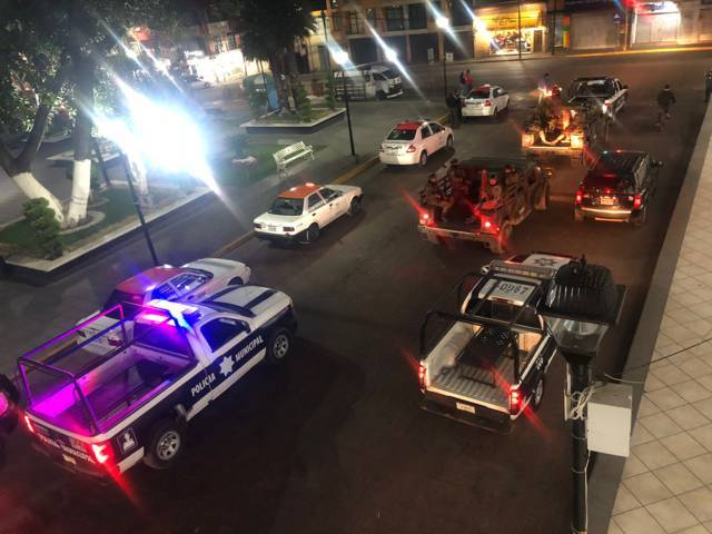 Policía municipal, CES, y el ejército sinónimo de seguridad: HFL