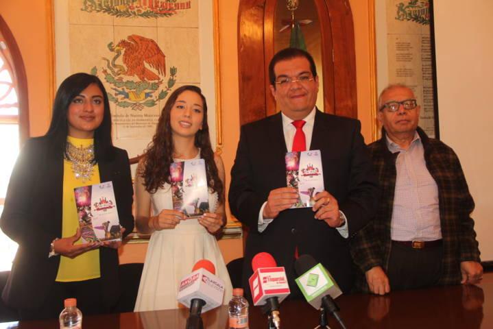 Feria Nacional Huamantla 2017 contará con más de 250 eventos: alcalde