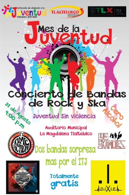 Preparan festejo para el Día de la Juventud en Tlaltelulco