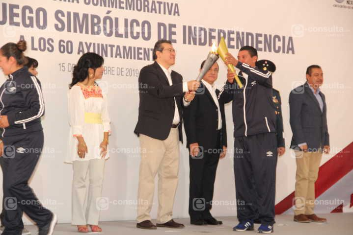 Los ideales de los héroes de la Independencia que sean nuestra meta: alcalde