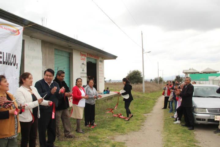 Pluma Morales acerca servicios básicos a los lugares más retirados