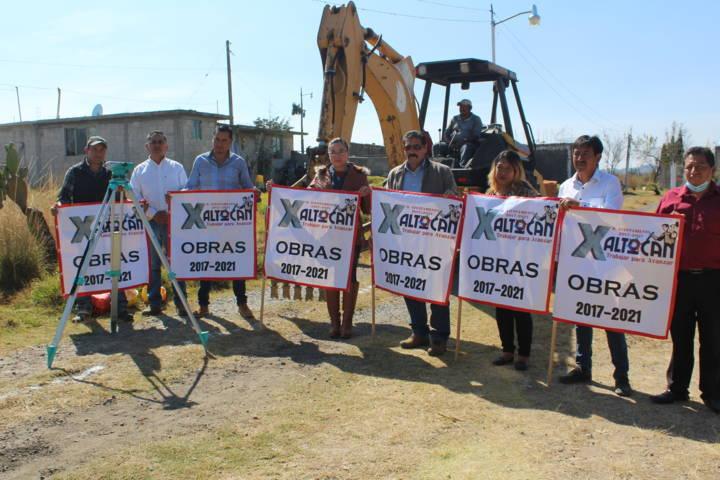 Con obra básica disminuimos el rezago social en el municipio: Sánchez Amador