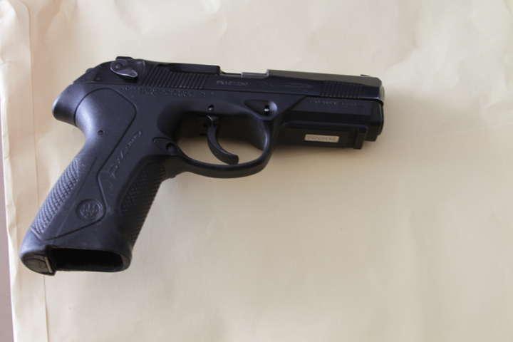 Asegura Policía Estatal a un sujeto con arma de fuego