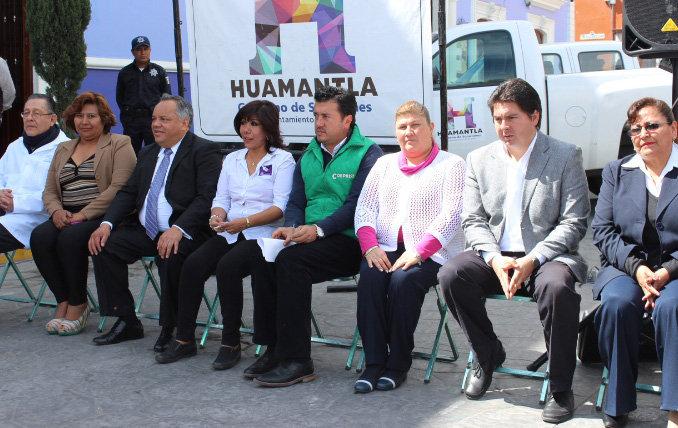 Realizan en Huamantla Jornada de Salud en tu Comunidad