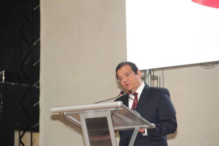 Sánchez Jasso presume finanzas sanas en su 1er informe de gobierno
