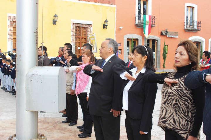 Conmemoran en Huamantla CCVI Aniversario de la Independencia de México