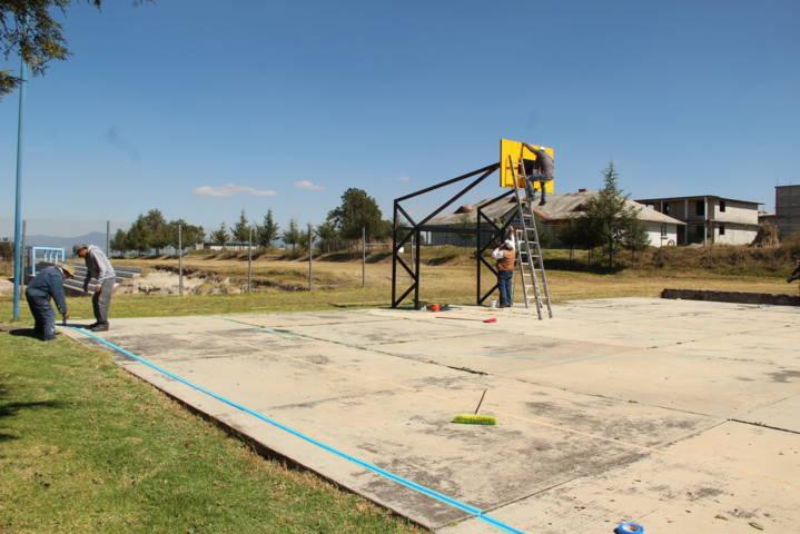 El torneo regional de zona del SNTE tendrán una unidad deportiva limpia: alcalde
