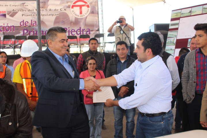 Después de 25 años Calpulalpan tiene una nueva empresa: alcalde