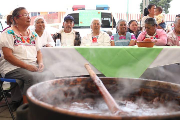 Gran éxito en el Festival Del Mole De La Feria De Chiautempan