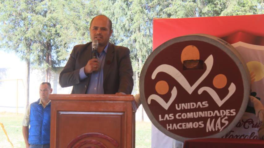 Sanabria Chávez dio a conocer que el COBAT 12 tendrá una techumbre