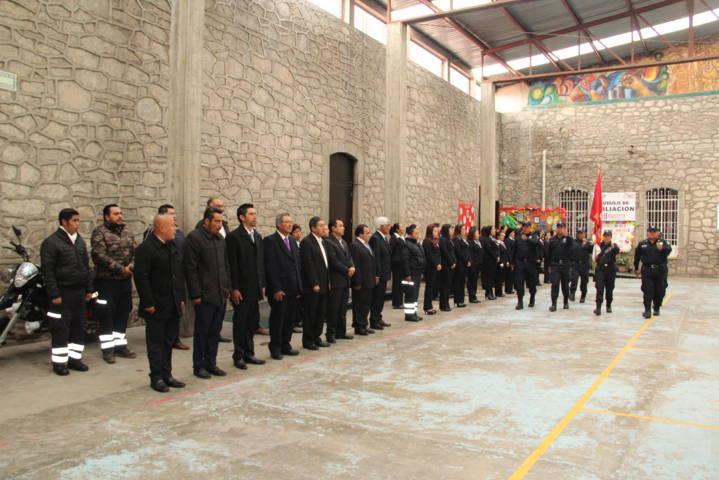 Alcalde Sánchez Amador encabeza Homenaje Cívico en el palacio municipal
