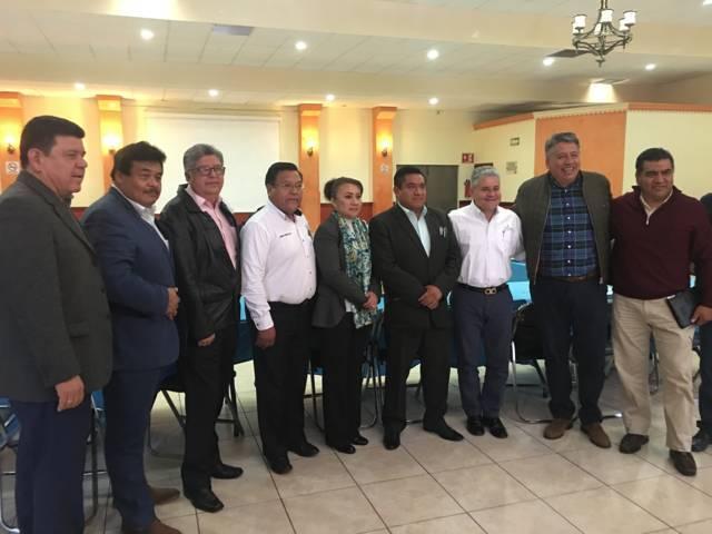 Efectúa dirigencia nacional reunión con coordinadores de Nueva Alianza Tlaxcala