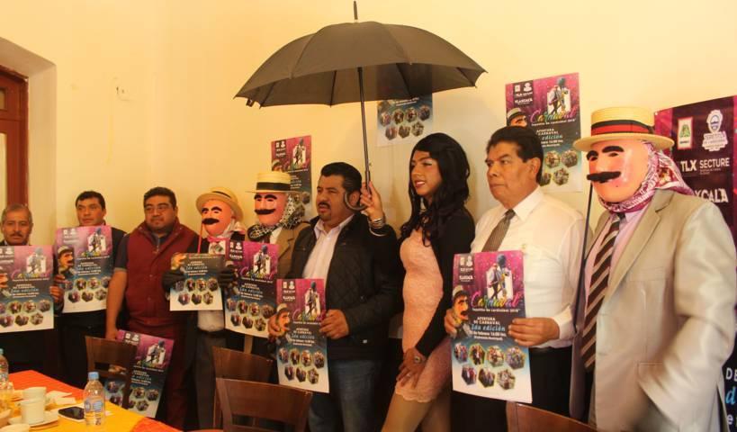Autoridades de Lardizábal presentan actividades de carnaval 2018