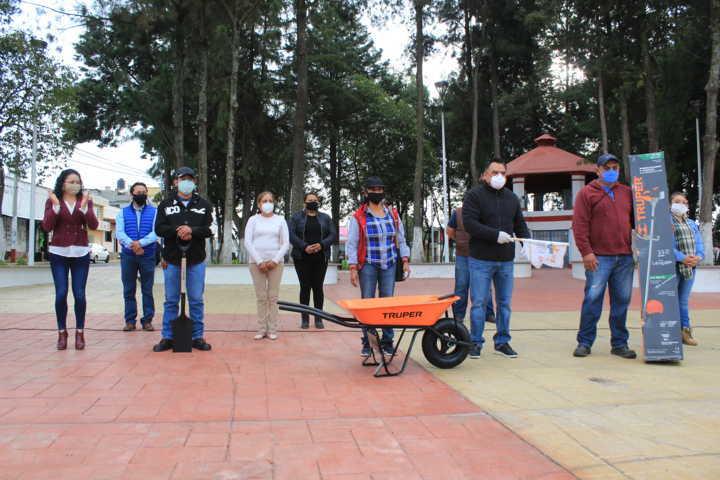 Tetla invierte 2,5 millones en empleo para sus habitantes