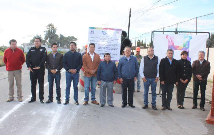 Ayto. de Huamantla con más acciones de infraestructura básica