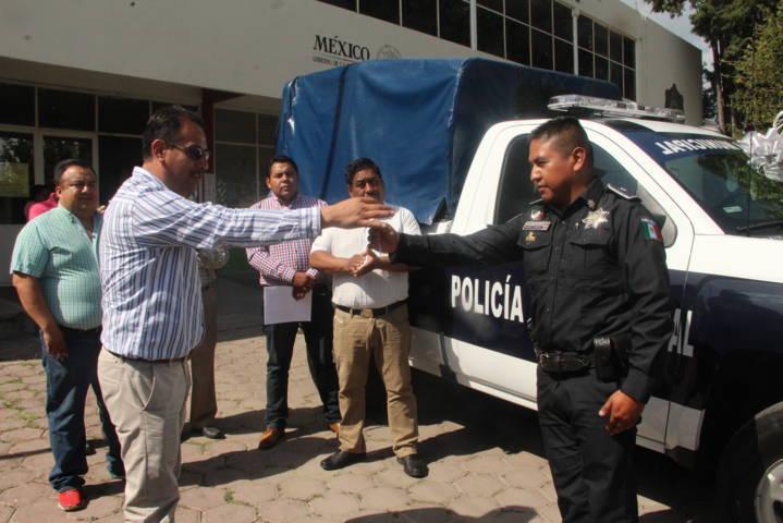 Pérez Juárez refuerza la seguridad municipal con una nueva patrulla