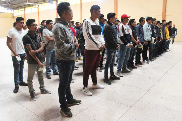 Se realizó en Santa Cruz Tlaxcala Sorteo del Servicio Militar Nacional